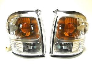 Nouvelle toyota hilux 2001-2005 clignotants téléporteur lumières ensemble paire lh+rh  </span>