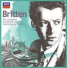Britten: The Complete Orchestral and Instrumental Music (CD, Nov-2013)