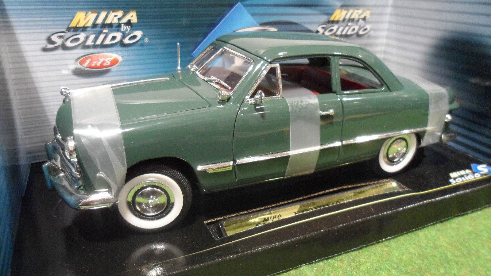 mejor vendido FORD Coupé 1949 verde au 1 18 de SOLIDO MIRA MIRA MIRA 8089 voiture miniature de collection  Envíos y devoluciones gratis.