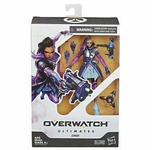 Overwatch-Ultimates-Series-Sombra-6-034-Collectible-Action-Figure-Hasbro-NON-MINT