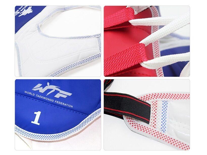 Pine Tree Taekwondo Vest Wt Combat Vest Vest Red Blue Tkd Sparring Guard