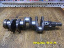 Kubota B21 Engine D1005 Crankshaft Complete 1j030 23012