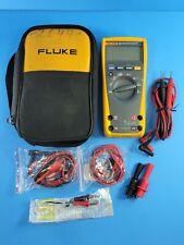 Fluke 179 Trms Multimeter Hard Case Accessories Excellent Soft Case More