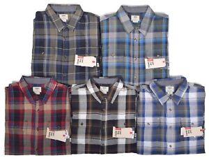 e8329120 Vans Men's $54.50 Casual Elm Plaid Flannel Button Up Shirt Choose ...