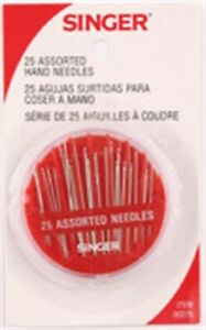 Singer-00276-Hand-Needles-Assorted-Colors-25-Count