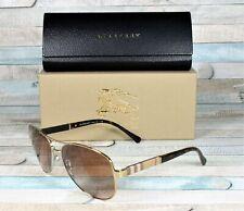9846d5f3b Burberry Sunglasses Black Cateye Be 4251q 3001/8g Gradient Gray Lens ...