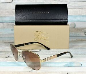 b2eaa53999f7 Image is loading Burberry-BE3080-114513-LIGHT-GOLD-brown-gradient-59-