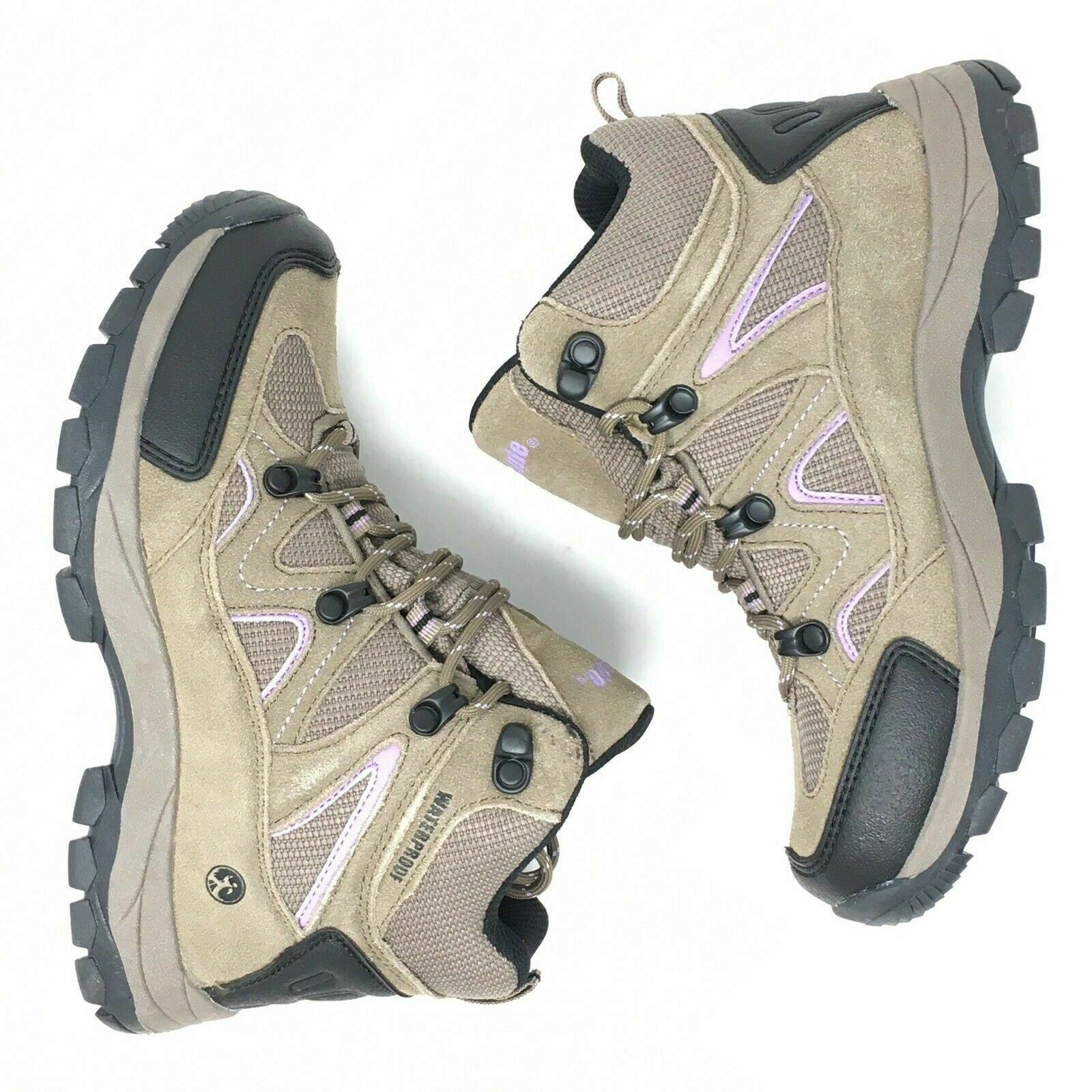 Leather Waterproof Mid Hiking Boot