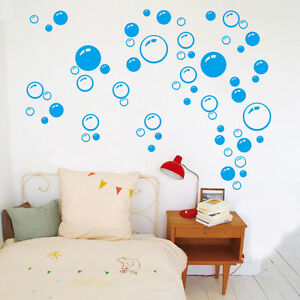 Image Is Loading 86pcs Bubble Vinyl Wall Decals Window Stickers Bathroom
