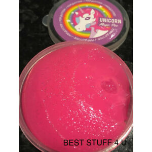 Magic Unicorn Reindeer Glitter Poo or Bogies Slime Toy Gift Stress Relief 95b