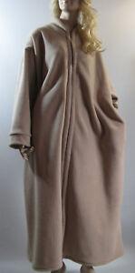 203e474806b Plus Size Dressing Gown Zip Front Anti-Pill Polar Fleece s.26 28 ...