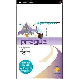 PSP-Passport-to-Praga-Guida-Interattiva-USATO-Buone-Condizioni