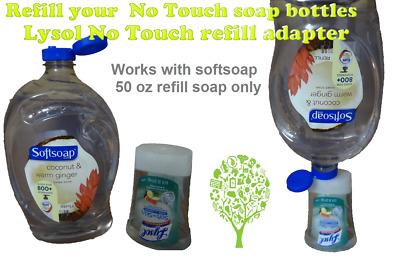 Lysol No Touch Soap Refill Adapter For The Auto Dispenser