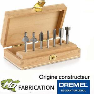 Coffret 7 Fraises à Défoncer Multi-usage Dremel - 26150660ja Technologies SophistiquéEs