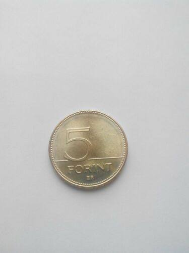 5 five Forint 2015 Coin Hungary Magyarorszag MC1