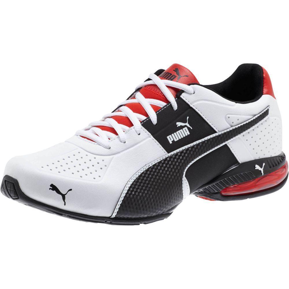 Nuevo  Puma Cell Surin 2 FM Para hombre Zapatos De Entrenamiento blancoo Negro Rojo llama 189876 01
