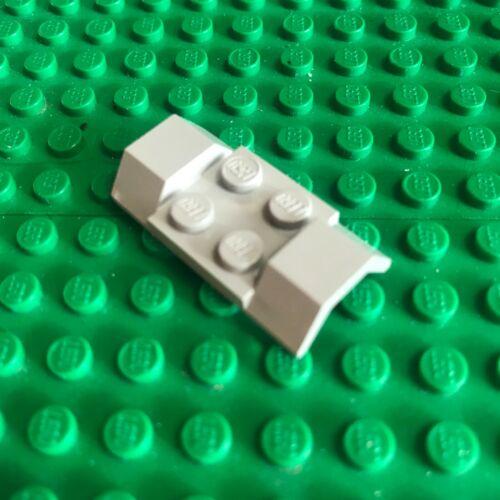 LEGO 3787 Platte spezial 2 x 4 Kotflügel altgrau