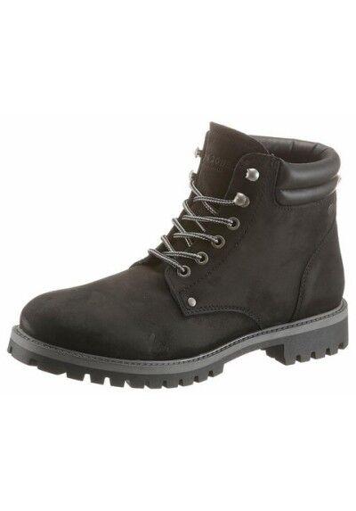 Gran descuento Trachten zapatos haferlschuhe de cuero Oktoberfest zapatos juteschnüre negros