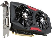 PowerColor Red Dragon Radeon RX 580 DirectX 12 4GB 256-Bit GDDR5 ATX Video Card + AMD Gift - QUAKE Champions Pack