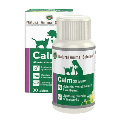 NATURAL ANIMAL SOLUTIONS CALM TABLETS (30 TABLETS)