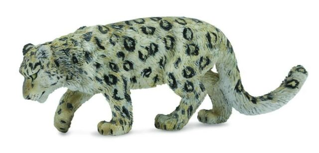 NEW Collecta - Snow Leopard from Mr Toys