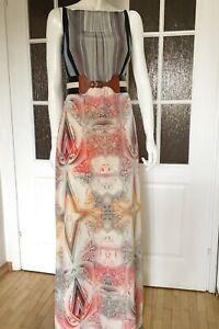 TED-BAKER-silk-maxi-dress-S-sleeveless-summer-dress