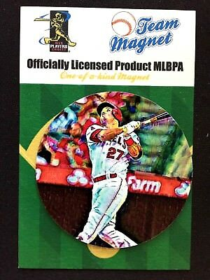 Los Angeles Angels Mike Trout Magnet-classic Collectible Fanartikel #1 Best Seller-fan Fav Unterscheidungskraft FüR Seine Traditionellen Eigenschaften Sport