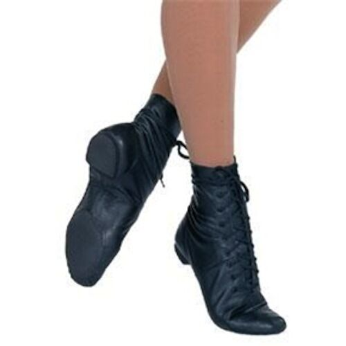 Capezio Split Sole Jazz Boot/ Used for dance -Child size 11 1/2M