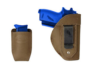 NEW Barsony Olive Drab Leather IWB Gun Holster for Mini 22 25 32 380 w// LASER