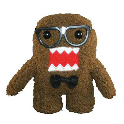 License 2 Play - Plush Stuffed Toy - NERD DOMO (Small - 6 inch) - New