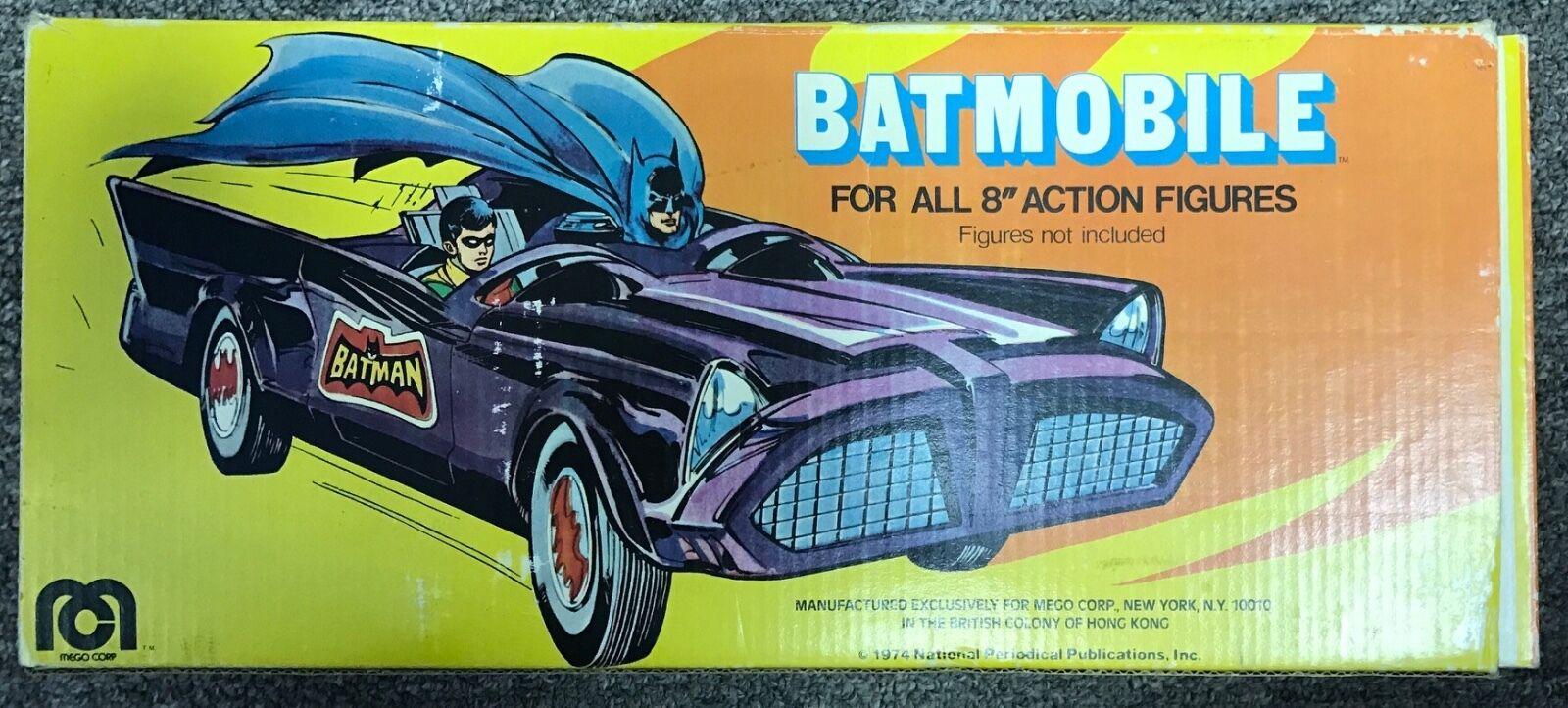 VINTAGE 1970'S MEGO BOXED BATMAN BATMOBILE  COMPLETE