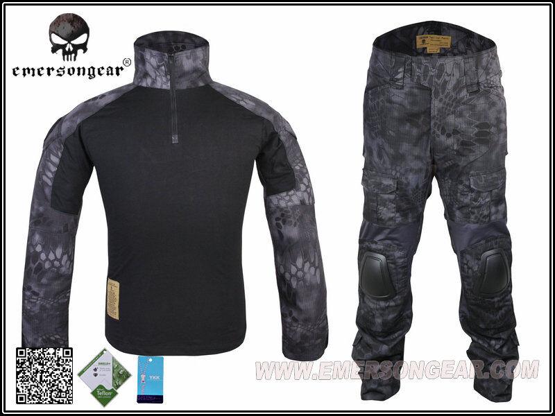 EMERSON Gen2 Combat Suit &Pants Uniform Set TYPHON  Military Army Airsoft EM6927