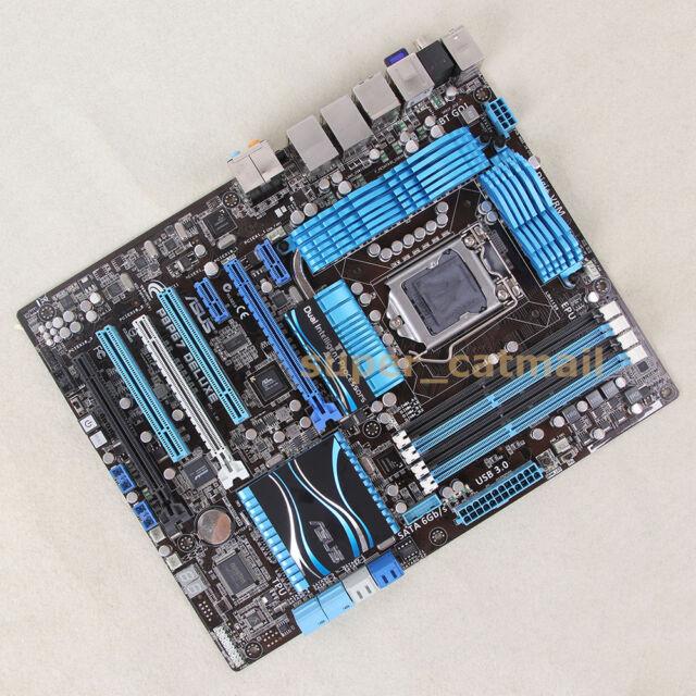 ASUS P8P67 DELUXE LGA 1155 Socket H2 Intel P67 Motherboard ATX DDR3