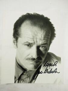 Gato-Nicholson-la-Departed-Autografiada-20-3cm-x-25-4cm-Promo-B-amp-w-Foto
