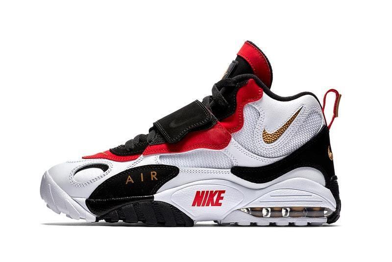 2018 Nike Air Max Speed Turf Retro OG Deion Sanders Size 13. 525225-101 Jordan