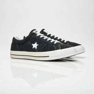 dc34a5e90112b5 Converse One Star X Patta Deviation 160078C Black Men Size US 10 NEW ...