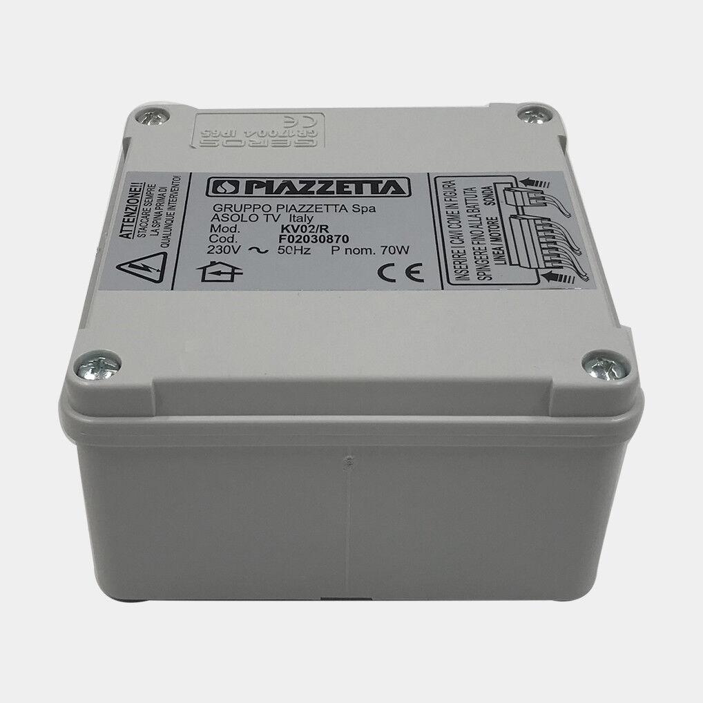 PIAZZETTA scatola radiocomando o centralina Multifuoco System 02