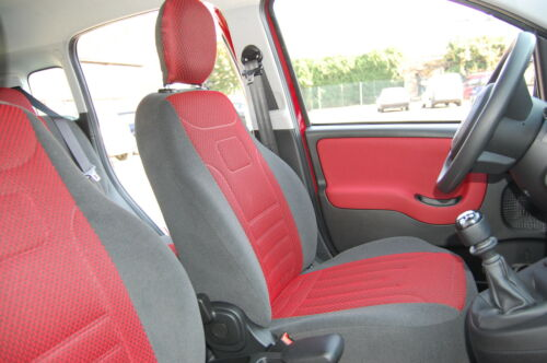 Renault Laguna I 1994-1998 Maßgefertigte Sitzbezüge Velours Stripes TrueColorRot