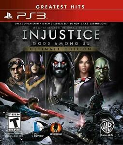 Injustice: Gods Among Us - Ultimate Edition PS3 (Sony PlayStation 3, 2013)