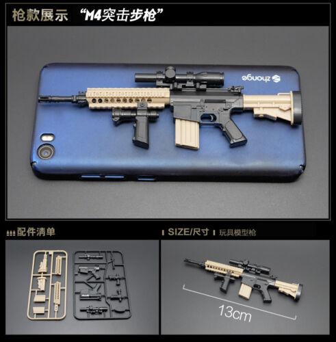 """1//6 SCALA ARMI FUCILE D/'ASSALTO moderno modello di pistola per 12/"""" ACTION FIGURE SOLDATO"""
