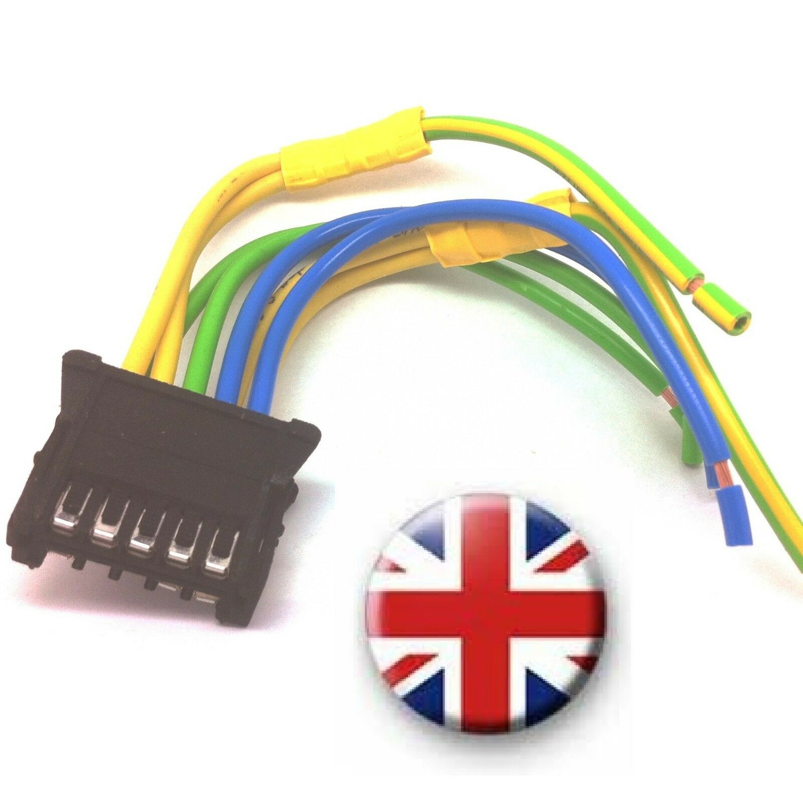 without CCH-CAR PJ Heater Blower Resistor Wiring Loom Harness Connector for Renault Megane 2 Scenic II