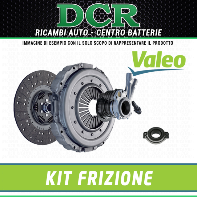 Kit embrayage VALEO 821258 FORD