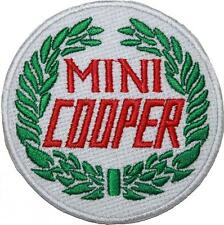 Classic Mini Cooper Logo Badge Embroidered Patch Sew / Iron-on 9cm