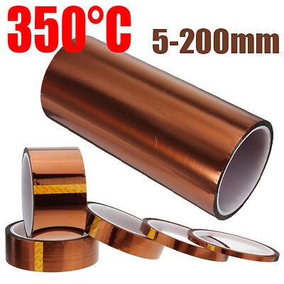 33m Folie Polyimid Band Klebeband hitzebeständiges Heißklebeband bis 350°C OVP