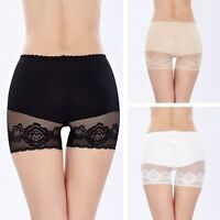 Womens Sexy Soft Lace Seamless Breathable Safety Shorts Leggings Pants Shorts