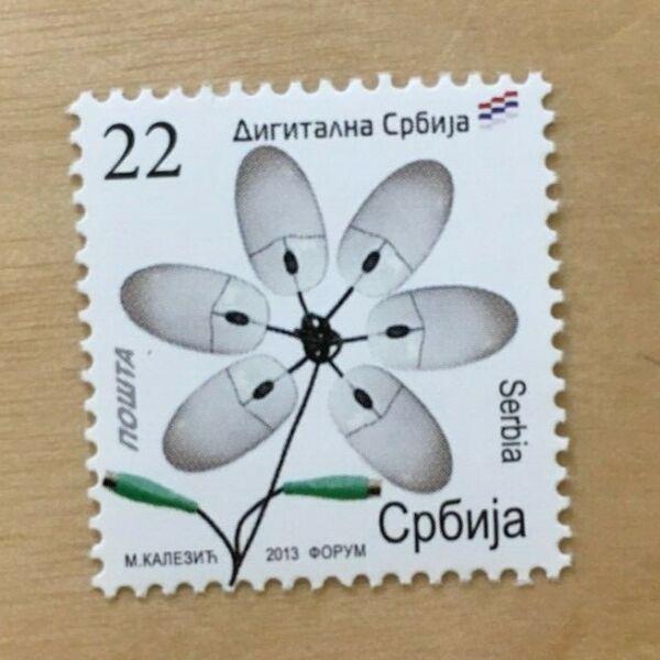 GéNéReuse Special Lot Serbie 2013 563 A-art Numérique - 30 Timbres-neuf Sans Charnière