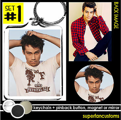 "Dylan O/'Brien Pinback Buttons or Fridge Magnets 1.25/"" Set Of 6 Different Designs"