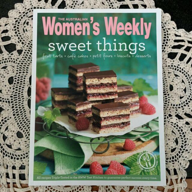 THE AUSTRALIAN WOMEN'S WEEKLY sweet things fruit tarts cafe cakes petit fours