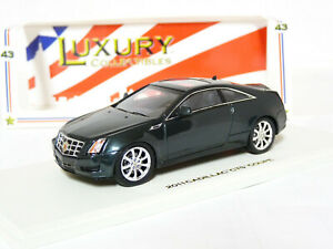Luxury-Collectibles-101140-1-43-2011-Cadillac-CTS-Coupe-Resin-Model-Car