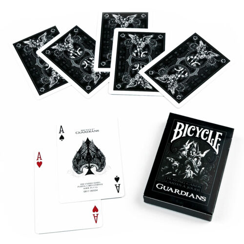 Bicycle Guardians Spielkarten Deck Standard Index Von Theory Poker Magic Art US